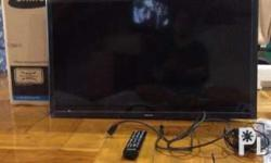 "Tv Samsung smart tv, 32"", with box and very very good"
