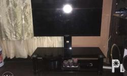 Urgent Selling my Preloved TV stand Coming with 50 inch