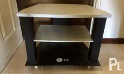 "TV Stand LG 19X24 Good for 32"" TV LG can be covered"