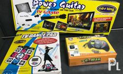 TV Power Guitar and TV Dance Pad slightly used G Max TV