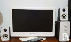 """LCD TV - can be used as a monitor 18"""" Working very"""
