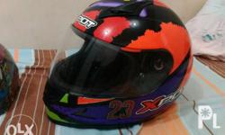 Two helmet XPOT full face large size and Aidy helmet