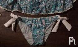 Two pc swimsuit, medium sized from Cinderella; never