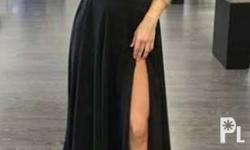 Two piece Black Gown