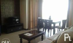 Two bedrooms, 86 sqms, fully furnish, two toilrt and