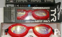 TYR Swimming Goggles - NEST PRO (Mirrored) More info go