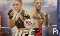 UFC 2 For ps4 Used but good as new condition No