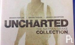 Selling my used Uncharted Nathan Drake Collection for