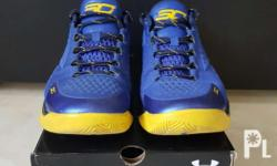 "Under Armour Curry 1 Low ""Royal Blue"" Size: 9.5 US"