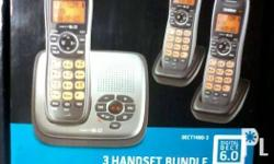 Up for sale is a Uniden Digital Dect 6.0 3 Handset