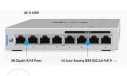 Fully Managed Gigabit Switch Model: US-8 � (8)