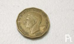 Up for sale is a United Kingdom Three Pence Coin 1948.