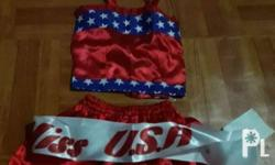 Miss U.S.A. (can fit 4 to 6 yrs old) -P450 set Miss