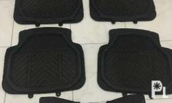 Selling my universal car floor matting. Total of 5pcs