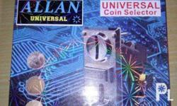 - Universal Coinslot can accept P1, P5, and P10 coins