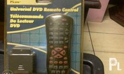 Universal dvd remote control .. dpa gamit, for ps 1and