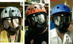 Universal motorcycle mask. Can do meet.up, highway