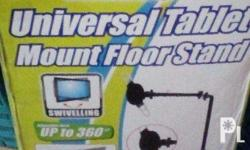 Brand new cd-r king universal tablet mount floor stand.