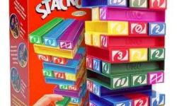 Exciting and Fun games of Jenga in plastic form. Games