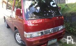 Deskripsiyon Urvan escapade 07 red 90tkm 1st owned not