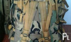 us backpack#camo#7days#used but not abused#no meet