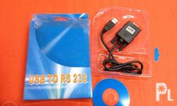 usb 2.0 to rs232 cable with driver Brand New high