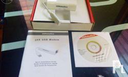 Good Day For Sale! USB Fax Modem Brand new never been