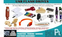 We have various styles of USB Flash drives ranging from