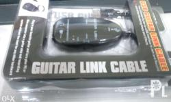100% BRAND NEW! USB Guitar Link Plug in your favorite