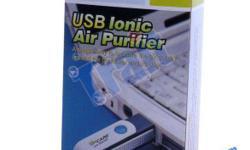 Brand new Effective Rotatable USB Ionic Ionizer Fresh