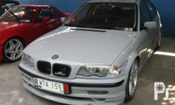 Vehicle Options 2001 BMW 316i Year: 2001 Mileage: 65000