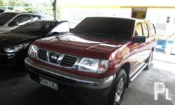 Vehicle Options 2001 Nissan Frontier Year: 2001