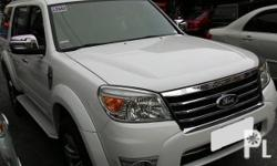 Vehicle Options 2011 Ford Everest 36000 mileage Year: