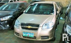 Vehicle Options 2011 Chevrolet Aveo Year: 2011 Mileage: