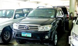 Vehicle Options 2010 Toyota Fortuner Year: 2010