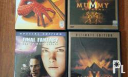For SALE Only: Used Region 3 DVDs: The Mummy The Mummy