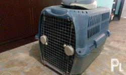 For Sale: Used Dog Kennel Php 2,500 -no more side locks