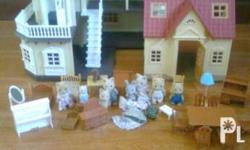 Used Girls play sets ... Sylvanian Families Cozy