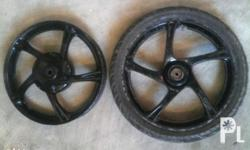 Used mags and tire for yamaha mio/nouvo For sale or