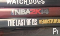 USED PS4 Games The Last of Us (1000) - SOLD NBA 2K14