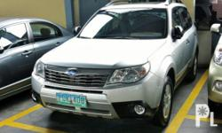Vehicle Options 2011 Subaru Forester Year: 2011