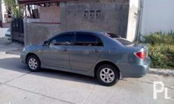 Used toyota altis2004 color blue, well maintained with