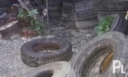 Used truck tires for sale more or less 70 pcs