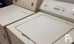 USED Whirlpool washing machine and dryer set Dryer is