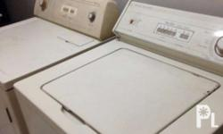 USED Whirlpool washing machine and dryer set