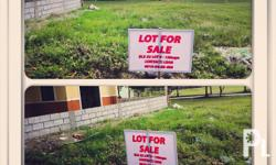 we are selling our vacant lot located at blk 33 lot 9