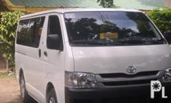 VAN FOR RENT - PALAWAN PUERTO PRINCESA CITY  CONTACT US