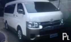 toyota grandia for rent 800 very cold aircon nice ride