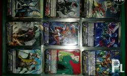 13 page binder (3��3 card pages) Mostly BT-01 and BT-14