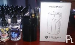 Rx 200 with 3 batts,USB Cable, RDA atomizer and free 50